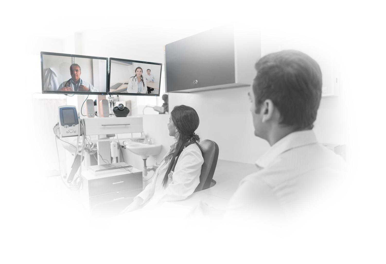 télé-expertise avec un spécialiste santé