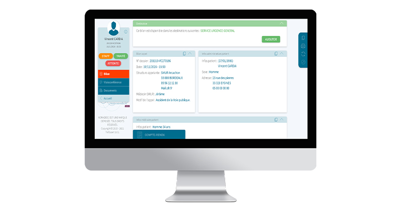 Nomadeec TelExpert Remote Physicians